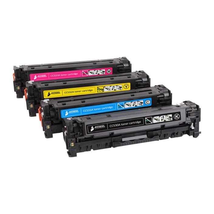CC530A-CC533A printer toner cartridge