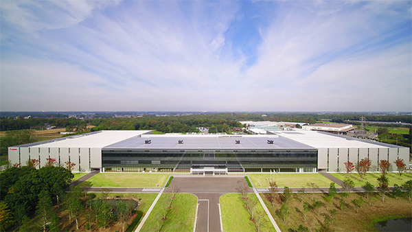 Canon Set up a New Eco-science Park