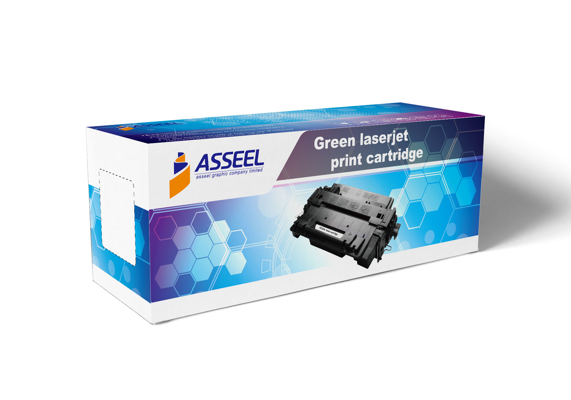 Asseel toner cartridge box (1)