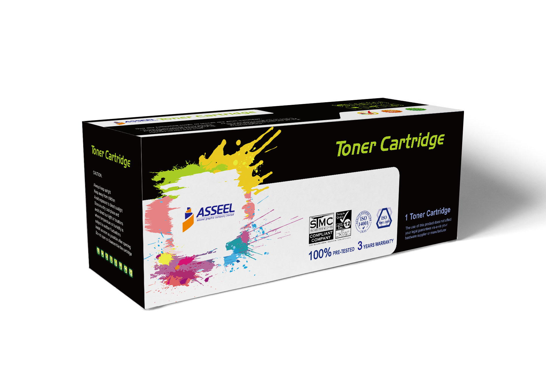 Asseel toner cartridge box (4)